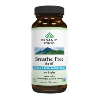 Organic India Breathe Free,  250 capsules