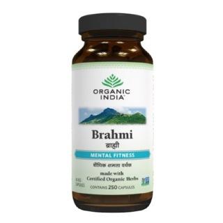 Organic India Brahmi,  250 capsules