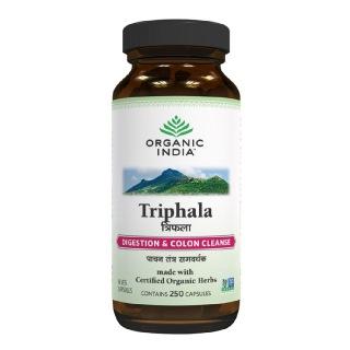 Organic India Triphala,  250 capsules