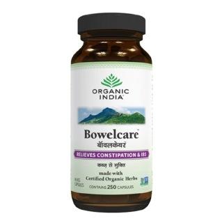 Organic India Bowelcare,  250 capsules