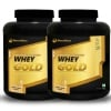 MuscleBlaze Whey Gold Protein 4.4 lb Cookies & Cream - Pack of 2