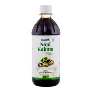Healthvit Noni Kokum Plus,  Natural  0.500 L