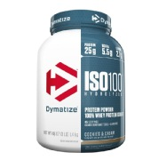 Dymatize Iso-100 Protein,  3 lb  Cookies & Cream