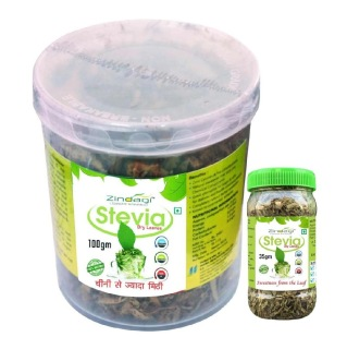 Zindagi Stevia Dry Leaves (100g) with Stevia Dry Leaves (35g) Free,  2 Piece(s)/Pack