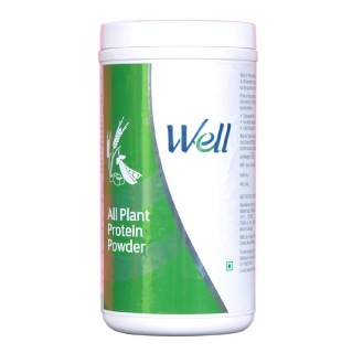 Modicare Well All Plant Protein Powder,  1.1 lb  Unflavoured