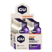 GU Energy Gel,  24 Piece(s)/Pack  Jet Blackberry