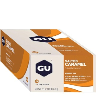 GU Energy Gel,  24 Piece(s)/Pack  Salted Caramel
