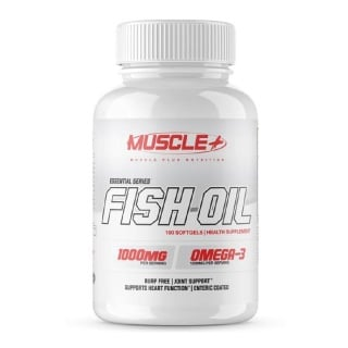 Muscle Plus Fish Oil,  100 softgels