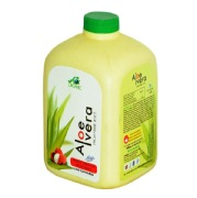 Global Organic Aloe Vera High Fiber Juice,  Lichi  1 L