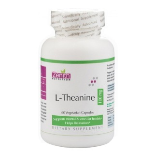 Zenith Nutrition L Theanine 100 mg,  60 capsules