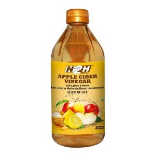 N2H Apple Cider Vinegar,  0.5 L  Lemon & Honey