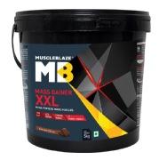 MuscleBlaze Mass Gainer XXL,  11 lb  Chocolate