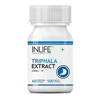 INLIFE Triphala Extract 500 mg, 60 capsules