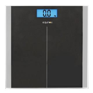 Equinox Personal Weighing Scale Digital (EQ EB 9400),  Black