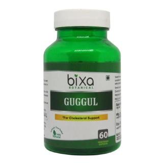 Bixa Botanical Guggul,  60 capsules