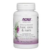 Now Hair Skin and Nails,  90 capsules  Unflavoured