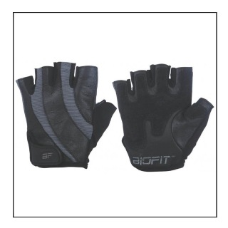 Biofit Pro-Fit Gloves Womens (1130),  Grey & Black  Small
