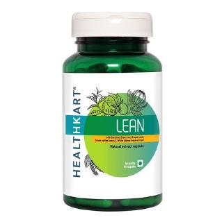 HealthKart Lean with Garcinia and Green Coffee Bean Extract,  90 capsules  Unflavoured