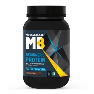 MuscleBlaze Beginner's Protein,  2.2 lb  Chocolate