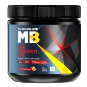 MuscleBlaze PRE Workout 300 (250gm / 0.55lbs, Fruit Punch)