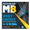 MuscleBlaze Whey Energy with Digezyme,  2.2 lb  Chocolate