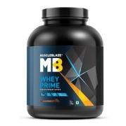 MuscleBlaze Whey Prime (80%) Protein,  4.4 lb  Chocolate
