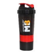 MuscleBlaze Hulk Shaker, Red Black 500 ml