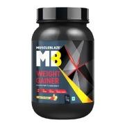 MuscleBlaze Weight Gainer with Added Digezyme, 2.2 lb Kesar Pista Badam