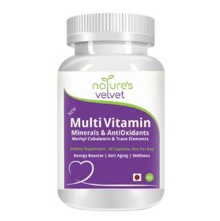 Natures Velvet Multi Vitamin,  60 capsules  Unflavoured