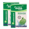 Acnes Anti Acne Soap Pack of 2,  75 g  Green Clay & Green Tea