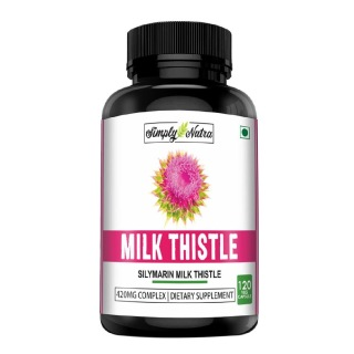 Simply Nutra Milk Thistle,  120 capsules