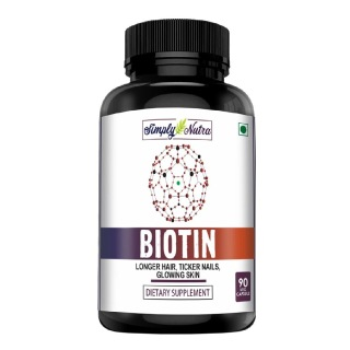 Simply Nutra Biotin,  90 capsules  Unflavoured