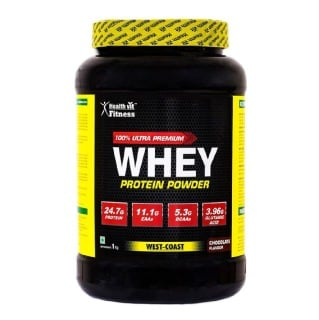 Healthvit Fitness 100% Ultra Premium Whey Protein,  2.2 lb  Chocolate