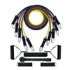 B Fit USA Heavy Resistance Tube Set of 5 (3212-5),  Multicolor  Free Size