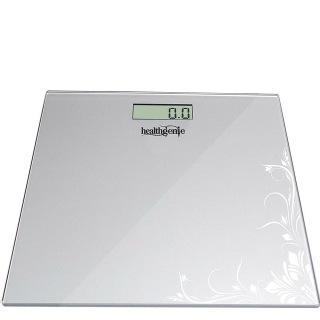 Healthgenie Digital Weighing Scale (HD 221),  Silver Pattern