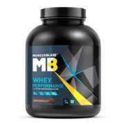 MuscleBlaze Whey Performance (70%) Protein,  4.4 lb  Chocolate