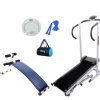 Lifeline Complete Weight Management Solution Curve Bench (5501A) and Manual Treadmill