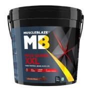 2 - MuscleBlaze Mass Gainer XXL,  11 lb  Chocolate
