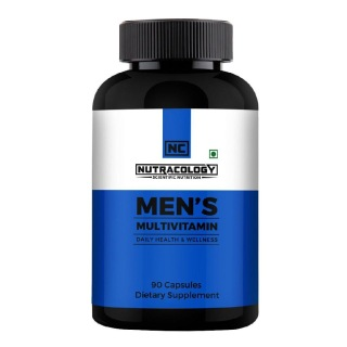 Nutracology Mens Multivitamin,  90 capsules  Unflavoured