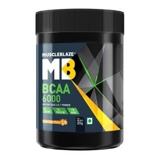 2 - MuscleBlaze BCAA 6000,  0.44 lb  Tangy Orange