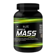 1 - INLIFE Mass Gainer,  2 lb  Chocolate