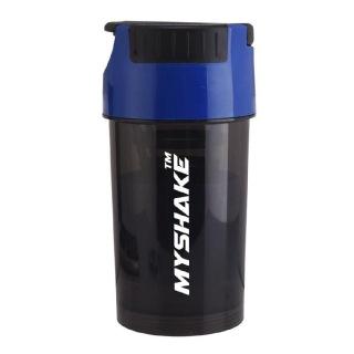 Myshake Cyclone Protein Shaker,  Black & Blue  450 ml