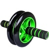 Aurion Ab Exerciser Double Wheel,  Green and Black  500 g