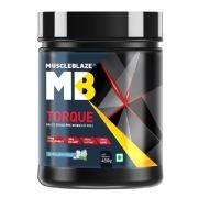 MuscleBlaze Torque Pre-Workout, 1.1 lb Icy Blue