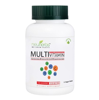 Neuherbs Multivitamin with Added Ginseng Extract,  Unflavoured  60 tablet(s)