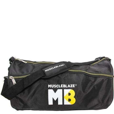 2 - MuscleBlaze ZHM Gym Bag,  Black