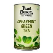 4 - True Elements Spearmint Green Tea,  100 g  Natural