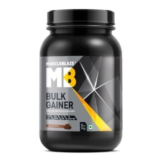 MuscleBlaze Bulk Gainer with Creatine,  2.2 lb  Chocolate
