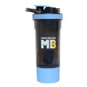 MuscleBlaze Shaker with Handle, Blue 700 ml