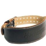 Harbinger Padded 4 Inch Leather Belt,  Brown  Large